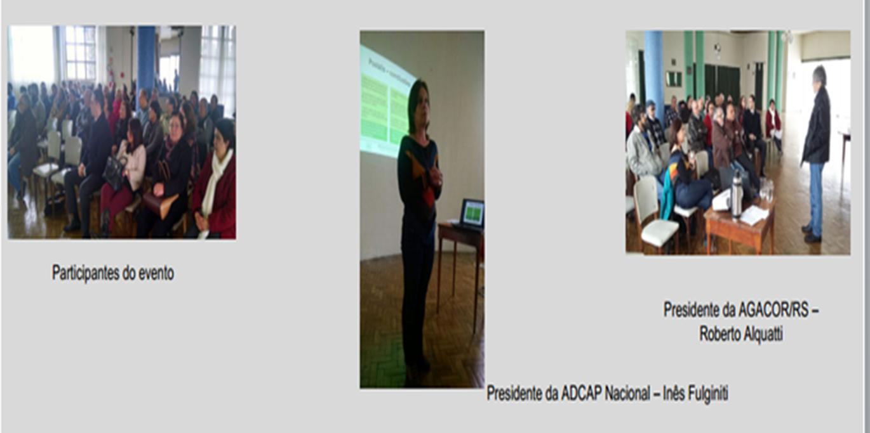 ADCAP e AGACOR visitam Pelotas/RS
