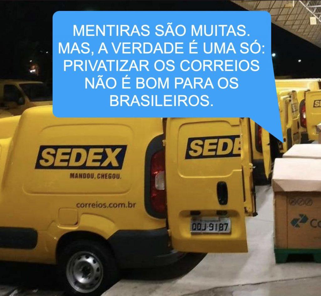 Diga não à privatização!